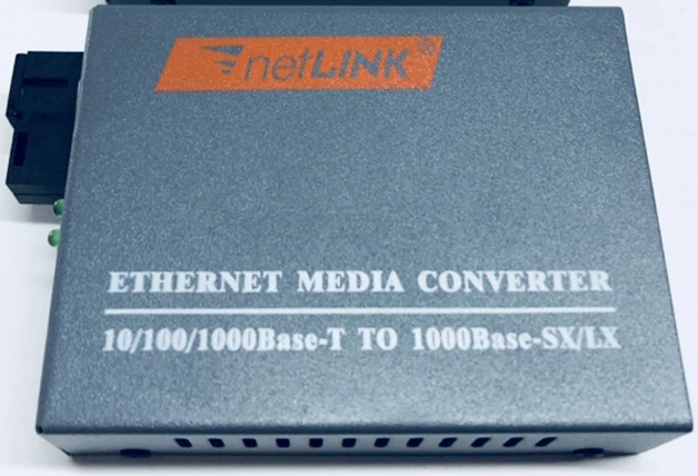 Gigabit Fiber-to-copper media converter incl. SFP 1310 (A) SC 20km